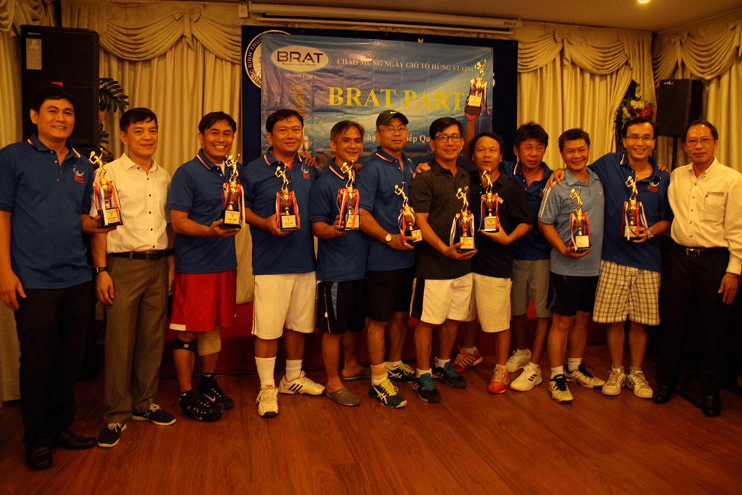 BRAT TENNIS TOURNAMENT IN HCM CITY